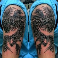 35 amazing phoenix tattoos on arm