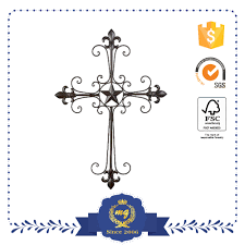 Crosses Home Decor List Manufacturers Of Wholesale Wrought Iron Crosses Buy