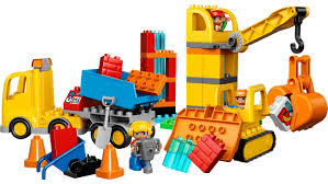 10813 big construction site lego duplo products and sets lego