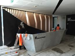 Bespoke Reception Desk All Sce Stone U0026 Design