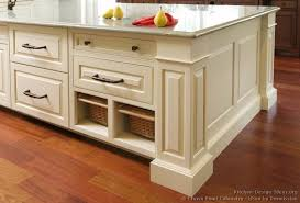 Kitchen Cabinets Baskets Pictures Of Kitchens Traditional Two Tone Kitchen Cabinets