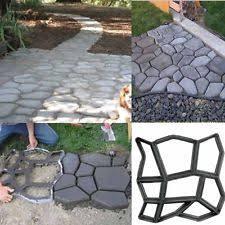 Brick Patio Diy Diy Garden Walk Maker Driveway Paving Brick Patio Mold Concrete