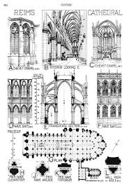 reims cathedral floor plan reims cathedral france architecture history pinterest