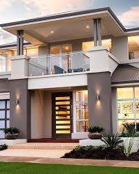 modern house plans floor contemporary home 61custom within plan