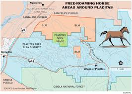 Blm Maps New Mexico by Wild Horses In Placitas Area Pose Problems Albuquerque Journal