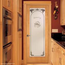 glass pantry door with kitchen pantry and kitchen cabinet also red