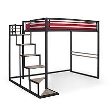 lit mezzanine 2 places avec canapé lits superposés chambre enfants lits avec rangements alinéa