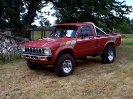 old toyota lifted 1983 toyota pickup information and photos momentcar