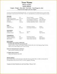 Free Basic Resume Examples by Example Of Simple Resume Format