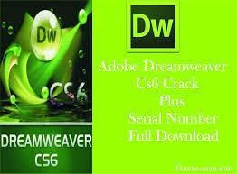adobe dreamweaver cs6 plus serial number full download