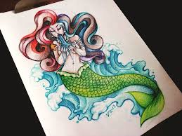 mermaid tattoo images u0026 designs