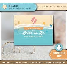 words for wedding shower card themed bridal shower thank you cards the party stork
