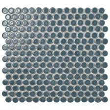 Best 25 Penny Round Tiles by Merola Tile Hudson Penny Round Storm Grey 12 In X 12 5 8 In X 5