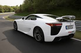 lexus lfa in the philippines premiere at nürburgring first lexus lfa delivered in germany