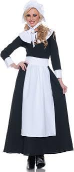 proper pilgrim womens fancy dress up thanksgiving