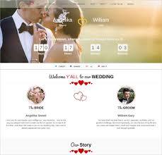 Wedding Website Free 26 Free Wedding Website Templates U0026 Themes Free U0026 Premium Templates