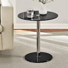 Black Accent Table Round Accent Table In Your Room Home Furniture And Decor