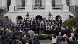 president trump hosts super bowl champion patriots at white house