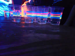 glow in the cups highlighter black light party with glowing cups ping pong balls