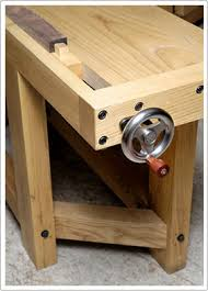 Woodworking Bench Vise Installation by Benchcrafted Com Tail Vise
