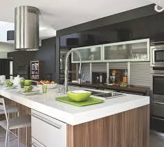 cuisine blanc et noyer 4 cuisines en bois et noyer côté maison