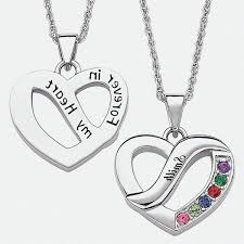 Cheap Personalized Necklaces Personalized Necklaces Walmart Throughout Personalized Heart