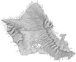 Molokai Map Moku Maps Aha Moku