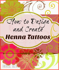 house revivals how to create a henna tattoo