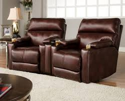 chair fabulous power reclining sofa leather with cup holders