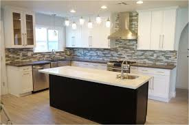 Rta Shaker Kitchen Cabinets White Shaker Kitchen Cabinets With Black Countertops Kitchen