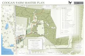 coogan farm master plan and trail map kent frost landscape