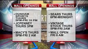 select northpark mall stores will be open on thanksgiving