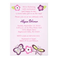 Butterfly Invitations Plum Butterfly Invitations U0026 Announcements Zazzle Canada