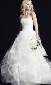 vera wang helena luxe 3 499 size 8 used wedding dresses