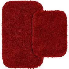 Washable Bath Rugs Red Machine Washable Bath Rugs U0026 Mats Mats The Home Depot