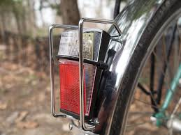 rear bike light rack mount and here are our taillights busch muller fender mounted dynamo