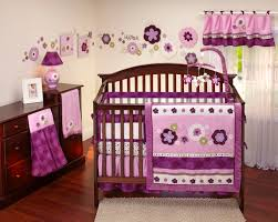 girls bedding collections purple crib bedding sets for baby girls all modern home designs
