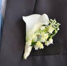 calla corsage 4 pcs lot diy calla lilies corsage white wedding style grooms