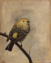yellow bird on branch by sethfitts on deviantart