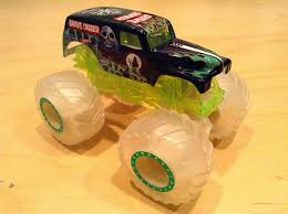monster jam grave digger truck julian u0027s wheels blog glow in the dark grave digger monster