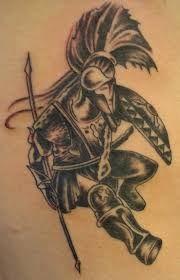 25 remarkable warrior tattoo concepts tattoos ideas k