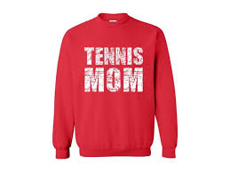 artix tennis mom unisex crewneck sweatshirt xxxx large red