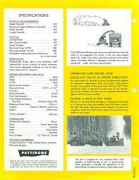 1980 pettibone c220 snow blower