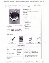 instruction manual for whirlpool duet dryer