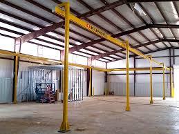 ktrac overhead workstation bridge cranes up to 3 ton cranes
