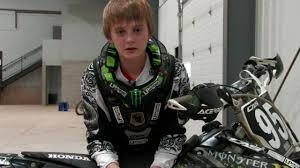 ama amatuer motocross rider profile logan cipala hillclimb and motocross