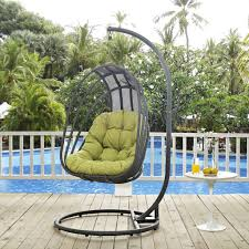 Outdoor Patio Swing by Outdoor Patio Swing Chair By Modway Choice Of Color