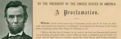 the emancipation proclamation rich in history