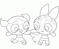 powerpuff girls z coloring pages kids coloring