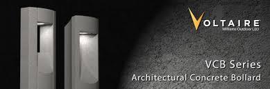 concrete bollard lighting fixtures williams voltaire vcb architectural concrete bollards omnilite
